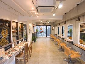 ヘアサロンglunge kitayamataの店内写真1